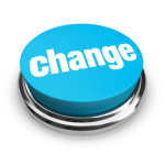 Change - Blue Button